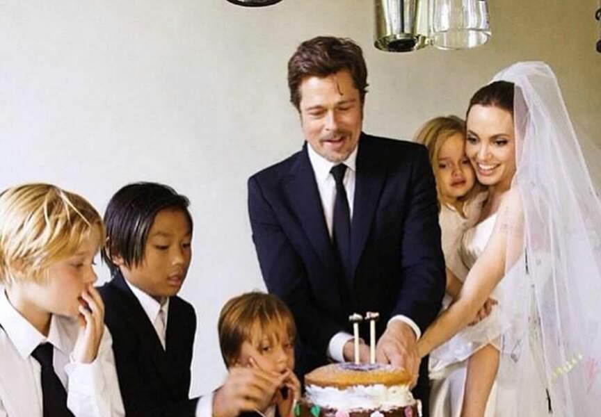 Angelina Jolie a épousé Brad Pitt en août 2014