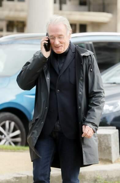 """Bernard Le Coq avait joué avec Maria Pacôme dans le téléfilm """"Une villa pour deux"""", en 2003"""