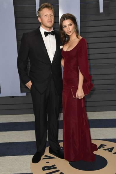 Emily Ratajkowski et son mari Sebastian Bear-McClard