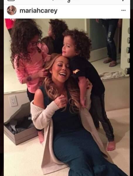 Mariah Carey et ses jumeaux