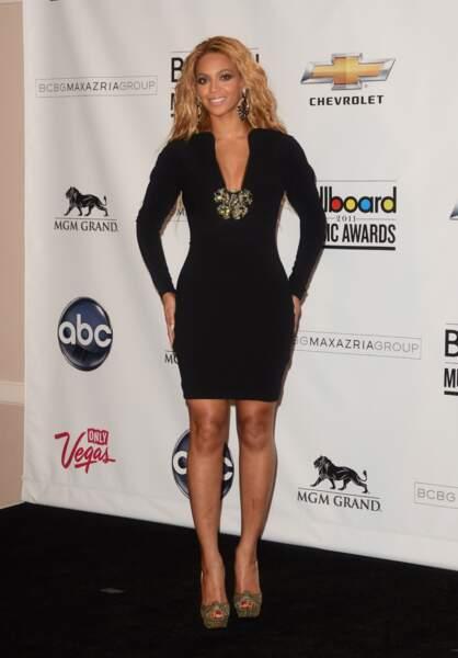 Beyoncé, en 2011 juste avant de tomber enceinte