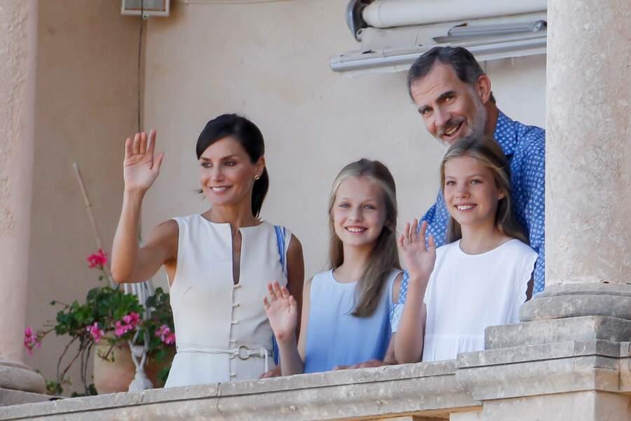 À Majorque, Letizia et Felipe d'Espagne ont visité la Casa Museo de Son Marroig