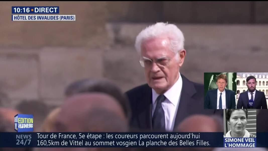 Obsèques de Simone Veil : Lionel Jospin