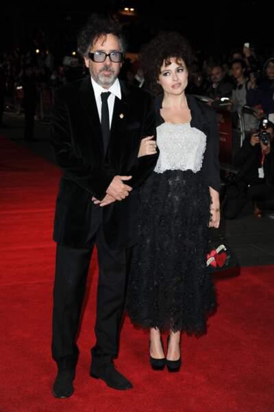 Tim Burton et Helena Bonham Carter (2012)
