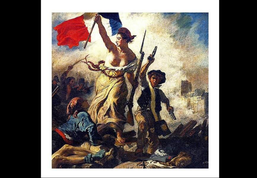 """Olivia Rousteing - """"Tout art est politique"""", La liberté guidant le peuple de Delacroix"""