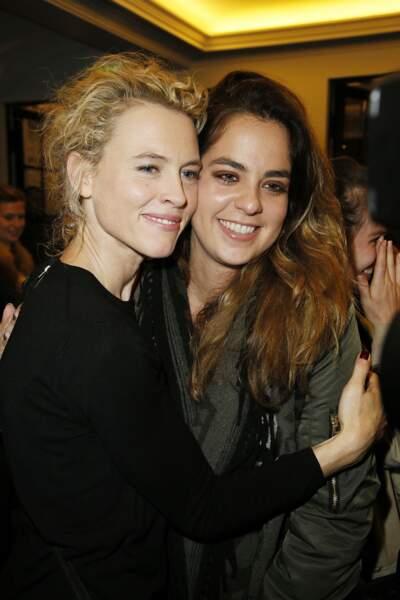 Mathilde Penin et Anouchka Delon