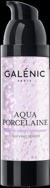 Sérum uniformisant Aqua Porcelaine, Galénic, 60€