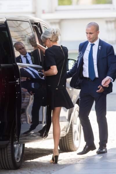 Brigitte Macron a fait sensation en Louis Vuitton