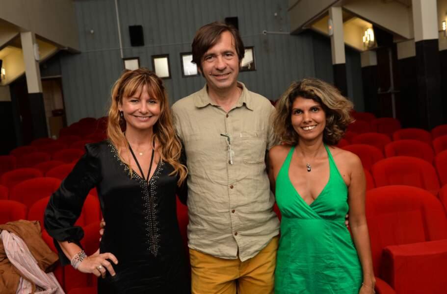 Thierry Samitier, Marina Pastor et Julie Jouve au Festival du film court à Saint Pierre de la Réunion