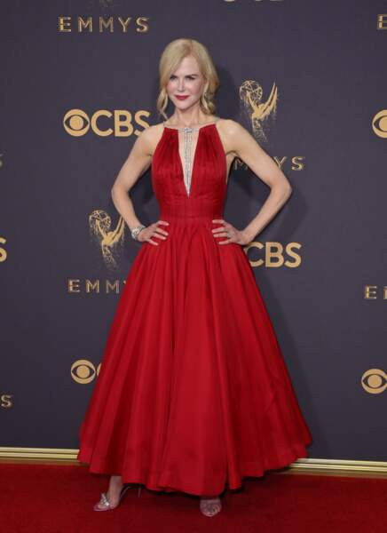 Le temps ne semble pas avoir d'effet sur Nicole Kidman, plus rayonnante que jamais.