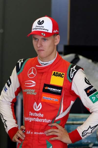 Mick Schumacher sous les couleurs de l'équipe italienne Prema Theodore Racing,