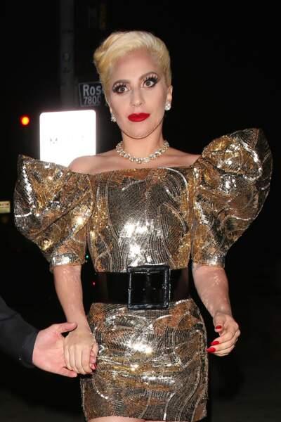 Lady Gaga a organiséé une grosse fête d'anniversaire ce samedi soir
