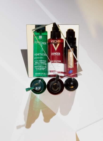 Fortifiez vos cheveux avec du collagène végétal, des antioxydants protecteurs et des extraits végétaux énergisants