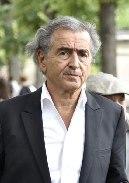 Bernard-Henri Lévy au cimetière de Montparnasse le 12 juillet pour rendre hommage à Claude Lanzmann