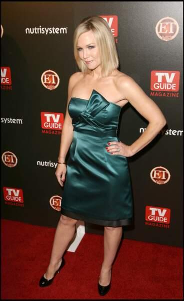 La bonne longueur: Kelly (Jenny Garth dans la vraie vie) a misé sur un carré long