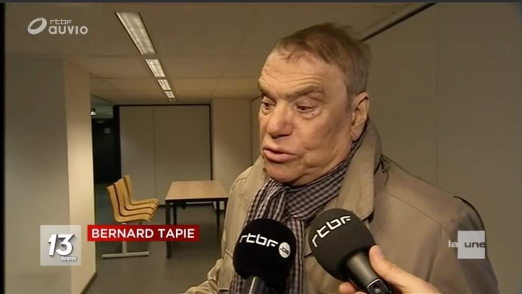 Bernard Tapie malade mais combattif : 1e apparition publique depuis l'annonce de son cancer
