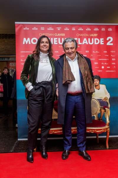 Christian Clavier partage sa vie avec Isabelle de Araujo depuis 2004