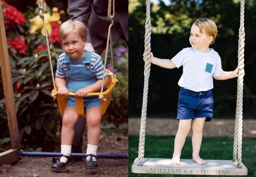 George et William, tel père, tel fils