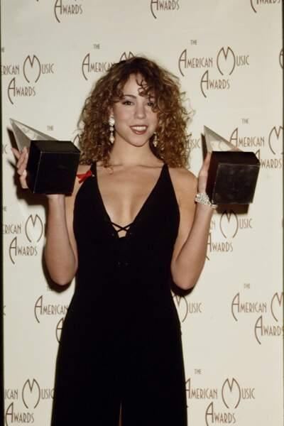 Mariah Carey rafle ses premières récompenses en 1993