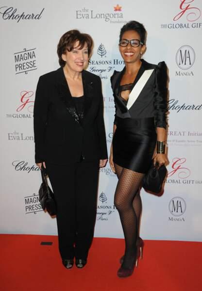 Roselyne Bachelot et Audrey Pulvar