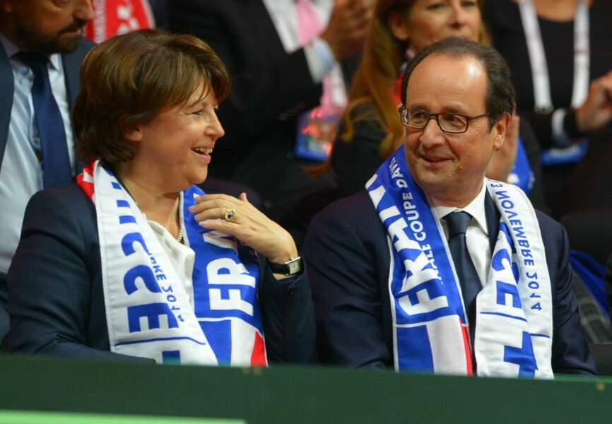 Ce week-end, Martine Aubry et François Hollande s'étaient retrouvés au Stade Pierre-Mauroy