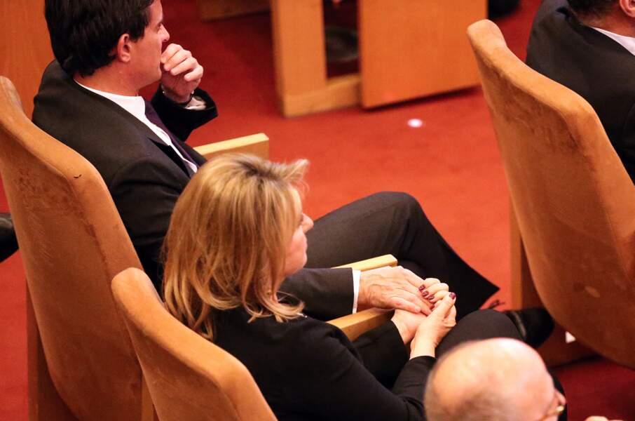 Manuel Valls et Susana Gallardo ont multiplié les gestes d'affection