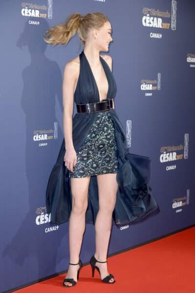 Lily-Rose Depp était sublime dans sa robe haute couture Chanel