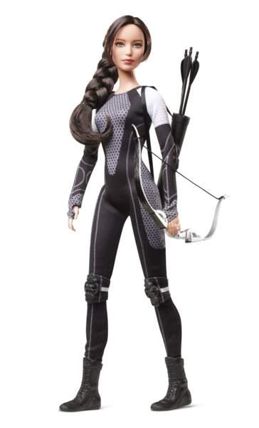 Le personnage de Katniss interprété par Jennifer Lawrence a inspiré une poupée Barbie à son effigie