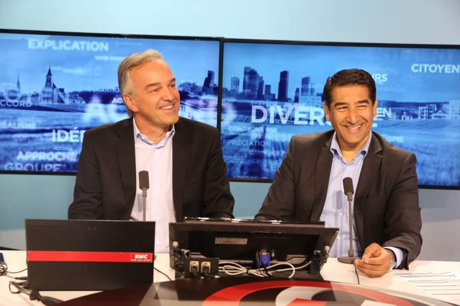 Karim Zeribi (à droite) participera à la nouvelle émission hebdomadaire de Cyril Hanouna