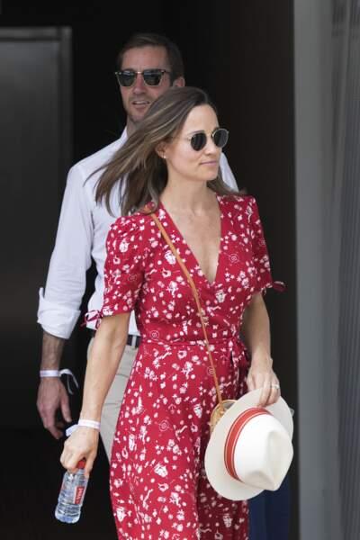 Pippa Middleton et son mari sont à Paris