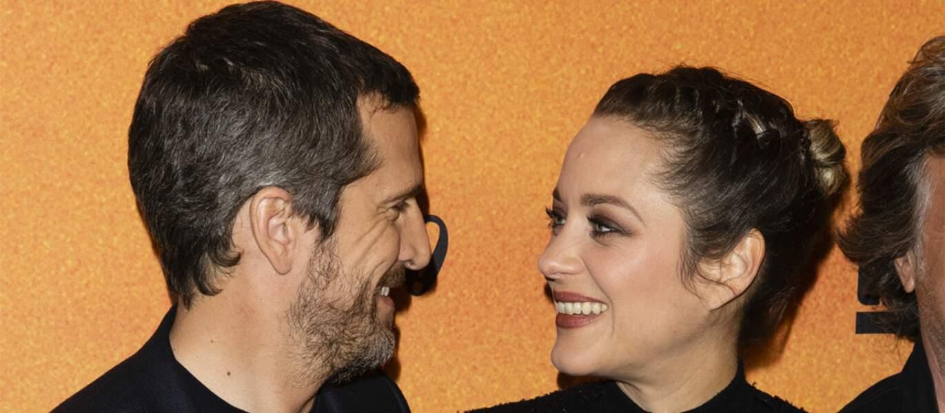 Guillaume Canet et Marion Cotillard, réunis à l'écran, se sont montrés très complices, comme à leur habitude.