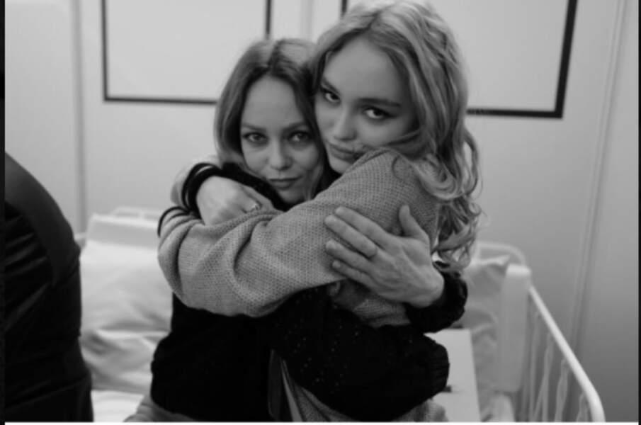 Vanessa Paradis et sa fille Lily-Rose