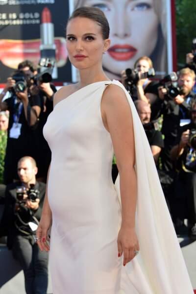 Natalie Portman Enceinte  Mostra de Venise