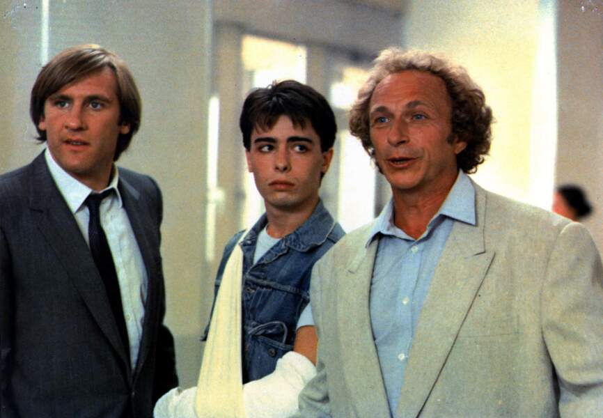 """""""Les compères,"""" avec Gérard Depardieu, 1983"""