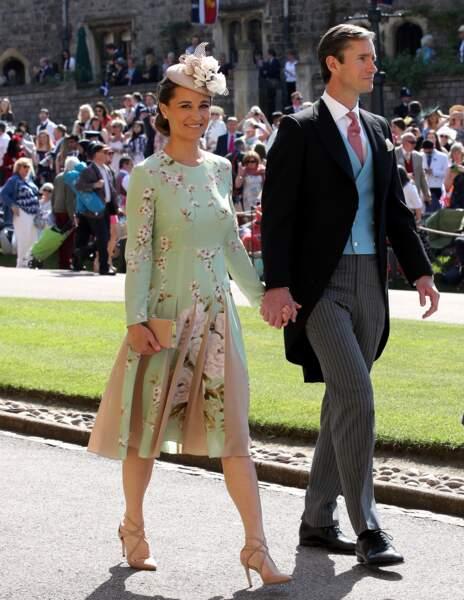 Pippa Middleton au bras de son homme