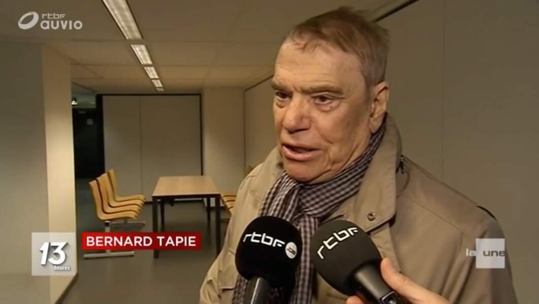 Bernard Tapie : 1e apparition publique depuis l'annonce de son cancer