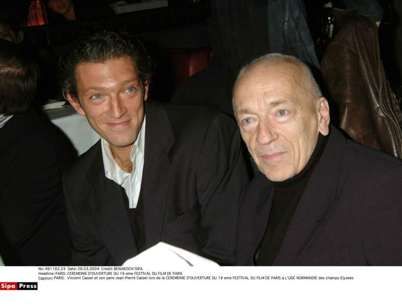 Vincent et Jean-Pierre Cassel