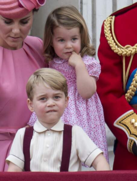 George et Charlotte trop craquants en 2017