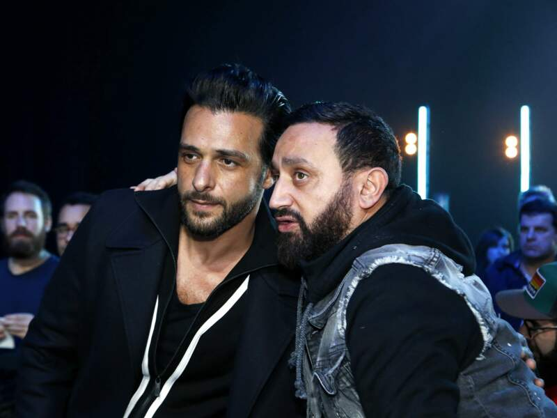 Maxim Nucci et Cyril Hanouna