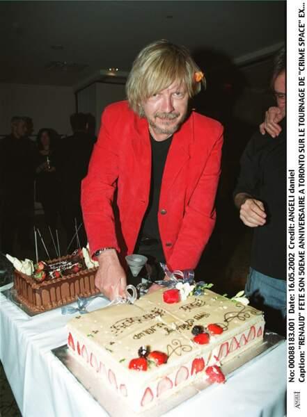 En mai 2002 à Toronto, lors d'une fête pour célébrer son 50e anniversaire