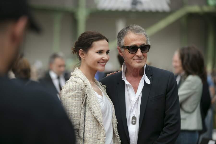 Virginie Ledoyen présente aussi pour la soirée-hommage à Karl Lagerfeld, à Paris