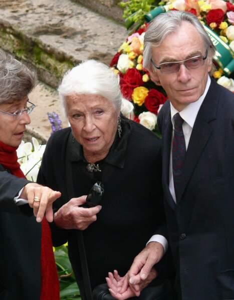 Danielle Darrieux et Jacques Jenvrin en 2007