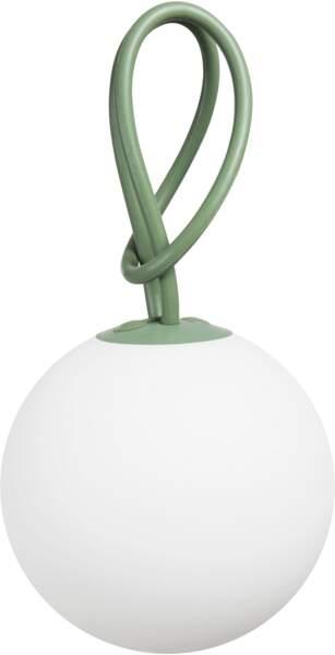 "Lampe d'extérieur sans fil ""Bolleke"", recharge USB, Fatboy, 79€96, madeindesign.com"