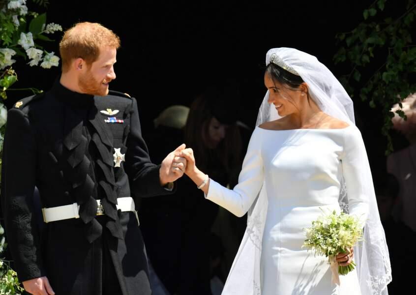 Le prince Harry et Meghan Markle : le couple est marié !