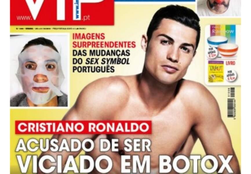 La Une du magazine portugais VIP