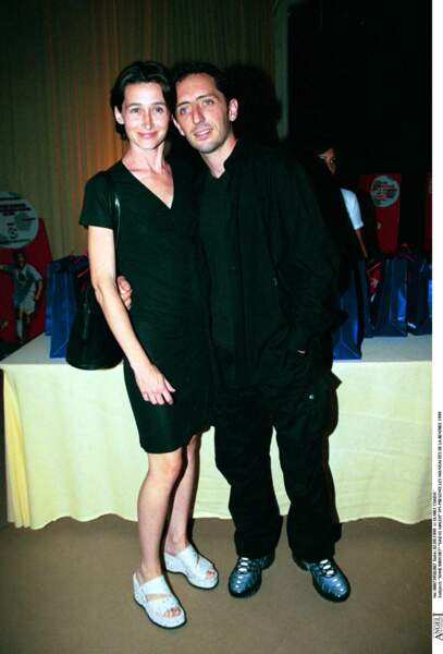 Gad Elmaleh avec Anne Brochet en 1999