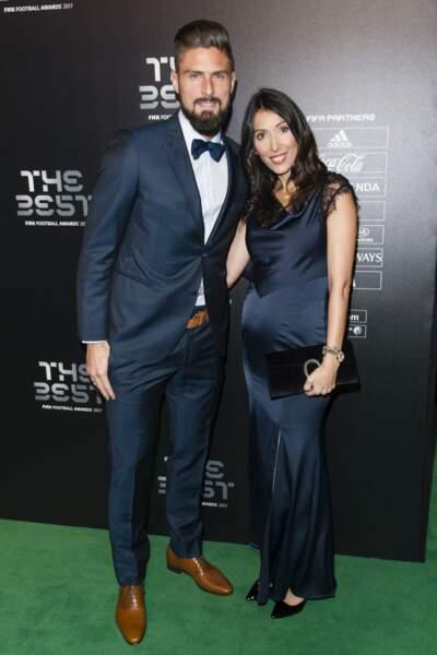 Olivier Giroud et Jennifer s'apprêtent à avoir un troisième enfant