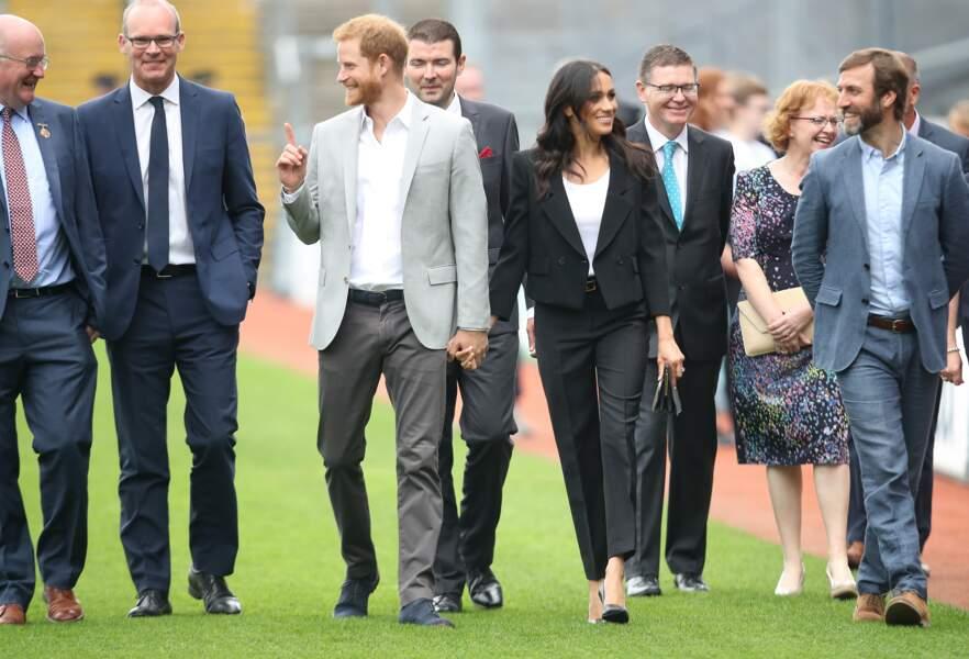 2e jour de la visite de Meghan et Harry en Irlande