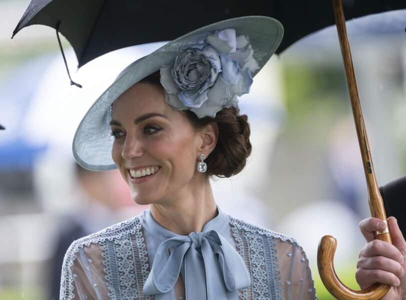 Kate Middleton le 18 juin, casse les codes pour la journée du Royal Ascot 2019