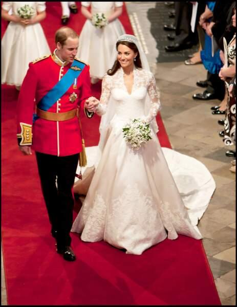 Mariage de Kate Middleton et du Prince William, Duc et Duchesse de Cambridge, en 2011